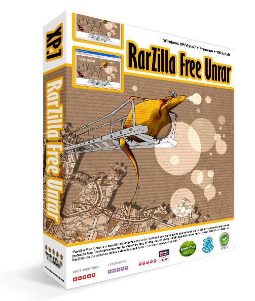RarZilla_Free_Unrar_logo