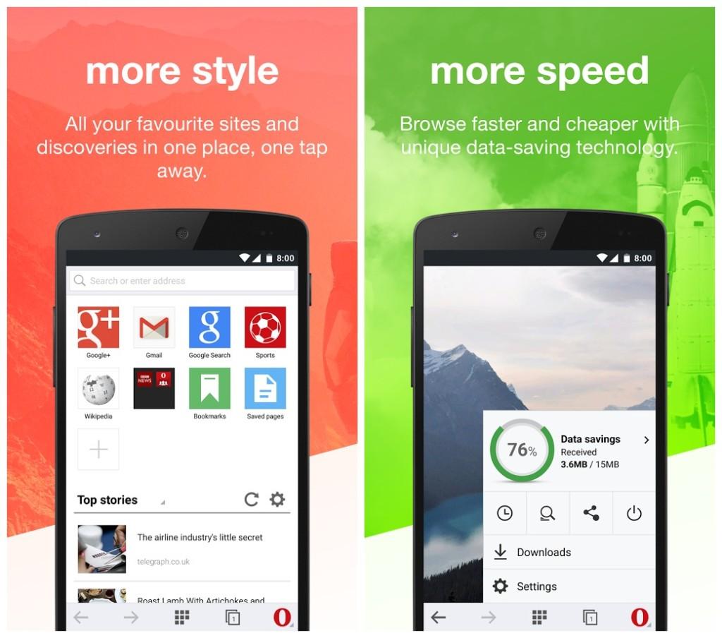 Скачать Opera Mini для Android