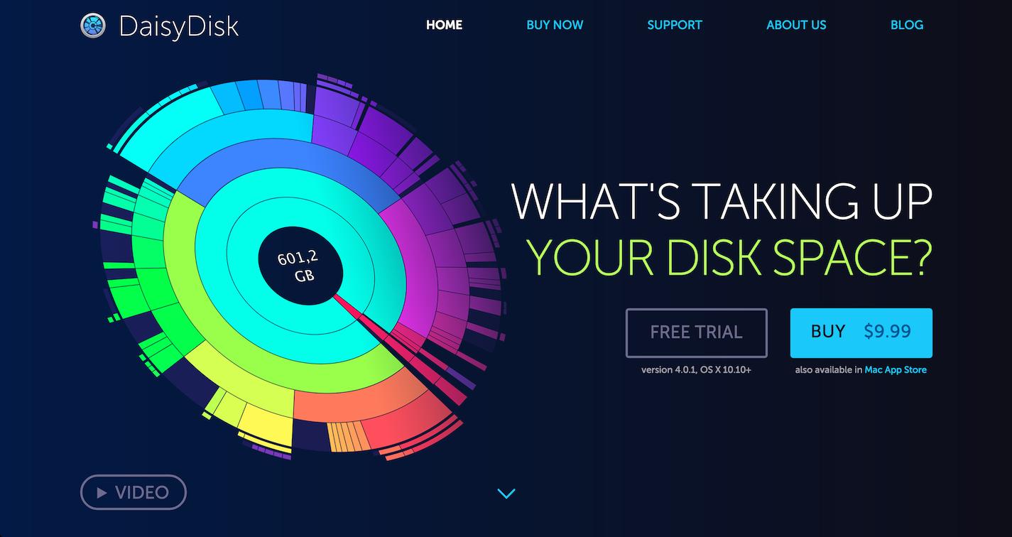 Скачать DaisyDisk для Mac OS бесплатно на русском языке ...