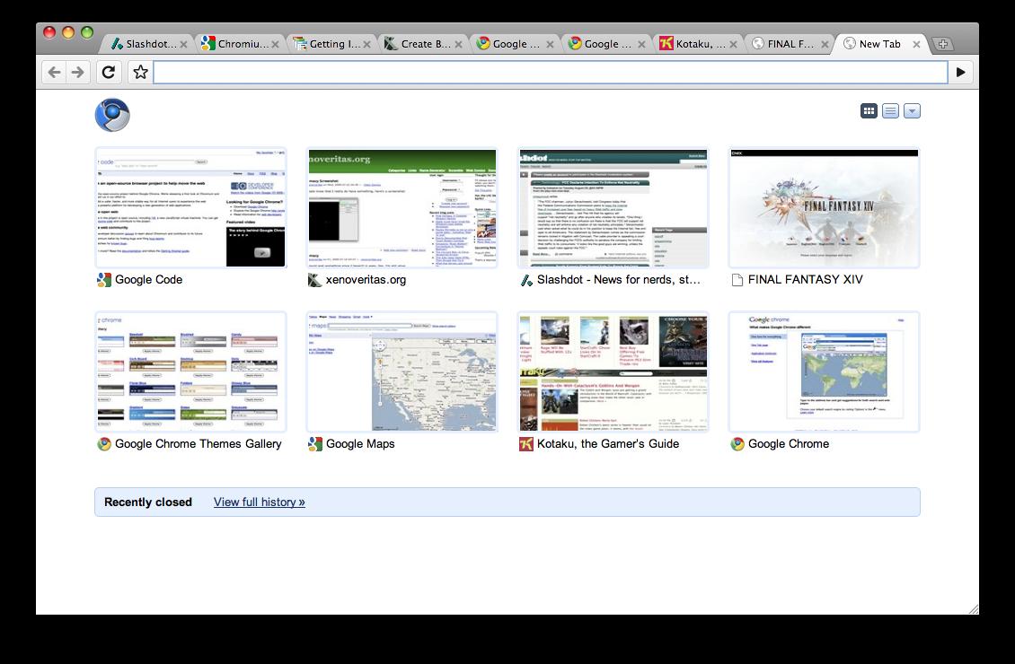 グーグル、Mac版「Google Chrome」で前進--スク …