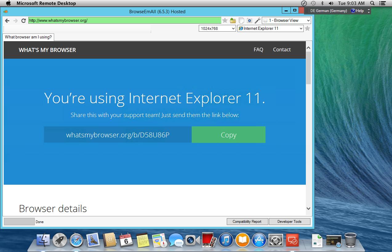 Скачать Internet Explorer для Mac OS бесплатно на русском языке