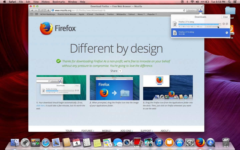 firefox 17 mac os x 10.5.8